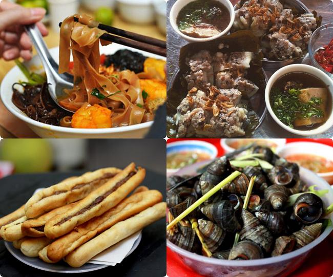 Update 5 khu phố ẩm thực nức tiếng ở Hà Nội