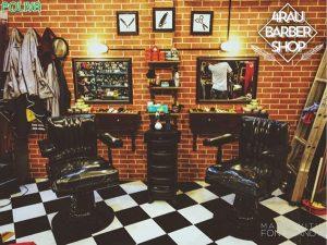 Tiệm cắt tóc Barber Shop đã có từ rất lâu đời ở nơi đây