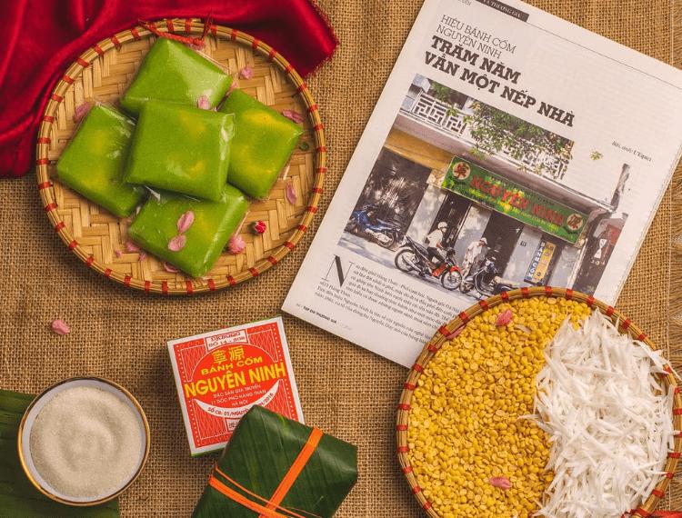 Bánh cốm Hà Nội – Hơn cả một thức  quà quê!