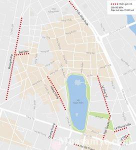 Gửi xe phố đi bộ Hà Nội